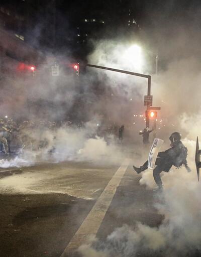 ABD'deki protestolar büyüyor: Trump'tan göstericilere 'en az 10 yıl hapis' tehdidi