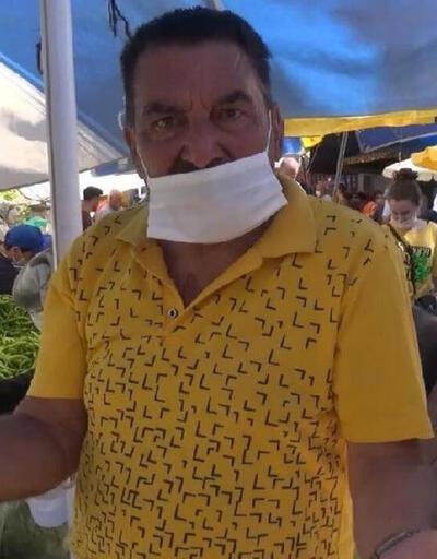 Emektar oyuncu Hikmet Taşdemir'e semt pazarında yoğun ilgi