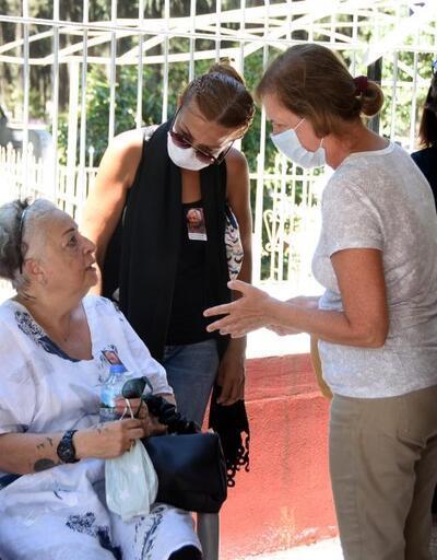 Kerem Bursin'in babaannesi son yolculuğuna uğurlandı