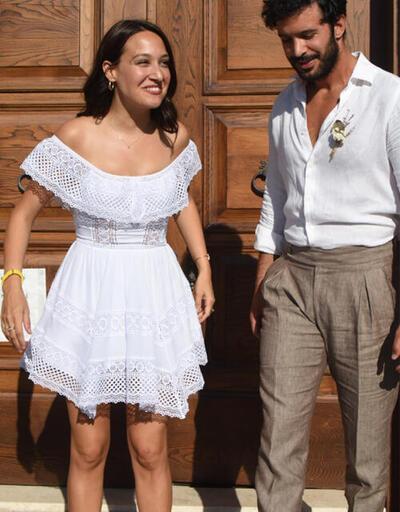 Barış Arduç ve Gupse Özay evlendi! İşte nikahtan ilk kareler