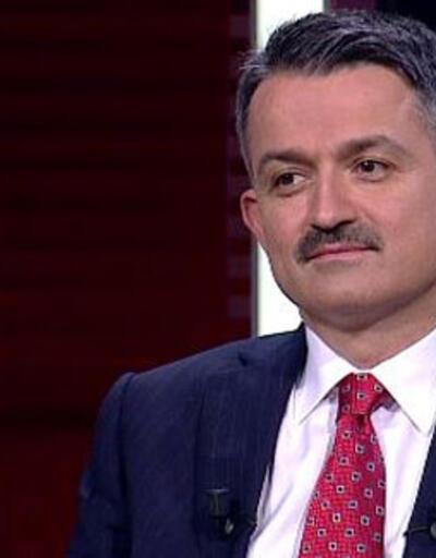 Son dakika haberi... Bakan Pakdemirli CNN TÜRK'te