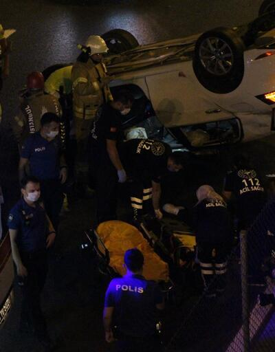 İstanbul Zeytinburnu'nda zincirleme trafik kazası: 1'i ağır 4 kişi yaralandı