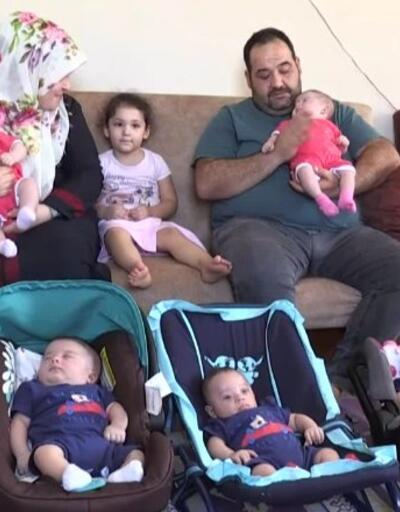 Beşiz sahibi aile yurda getirildi   Video
