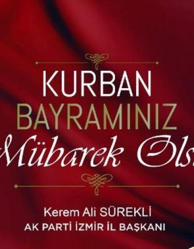 AK Parti İl Başkanı Sürekli'den bayram mesajı