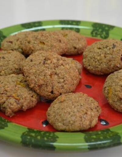 Tatlı krizine çözüm: Yeşil çaylı yulaflı kurabiye