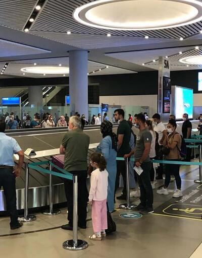 İstanbul Havalimanı'nda dönüş hareketliliği