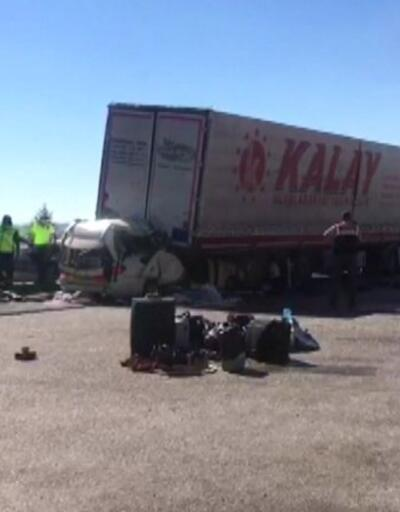 Ankara'da feci kaza 5 can aldı | Video