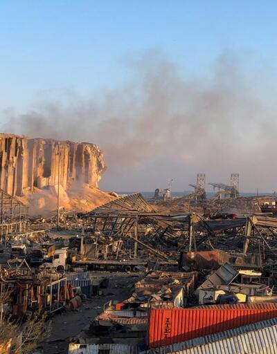 Beyrut'taki patlamanın bilançosu açıklandı