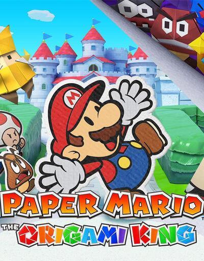 Paper Mario The Origami King Nintendo Switch'e adım attı