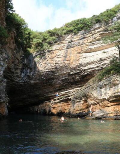 Doğa tutkunlarının adresi: Sardala Koyu ve Cennet Havuzu