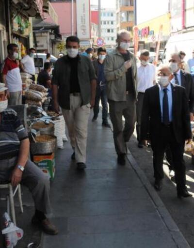 Son dakika... Kayseri'de vali ve belediye başkanından 'koronavirüs' denetimi