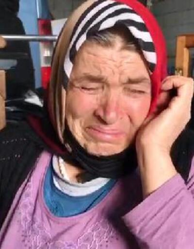 Son dakika... Evleri yanan aile gözyaşlarına boğuldu