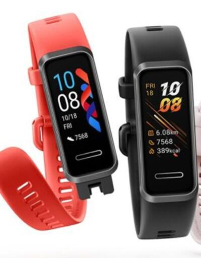 Huawei Band 4 Pro Türkiye'de satışa sunuldu