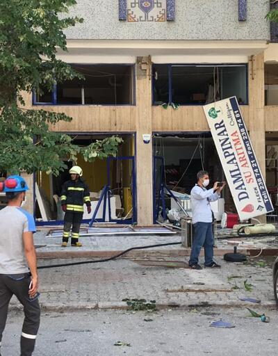Son dakika... Konya'nın Selçuklu ilçesinde doğalgaz patlaması