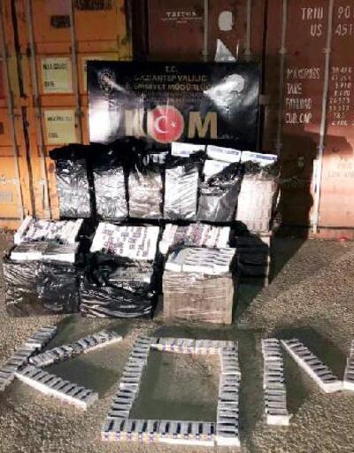 Son dakika...  9 bin 30 paket kaçak sigara ele geçirildi