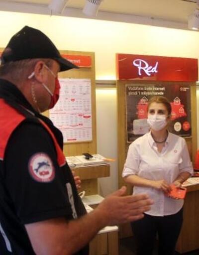 Bolu'da koronavirüs denetimi yapıldı