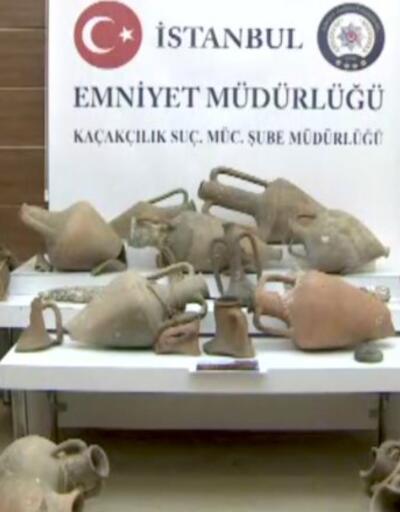 İstanbul'da tarihi eser operasyonu. Çok sayıda eser ele geçirildi, bir kişi tutuklandı | Video