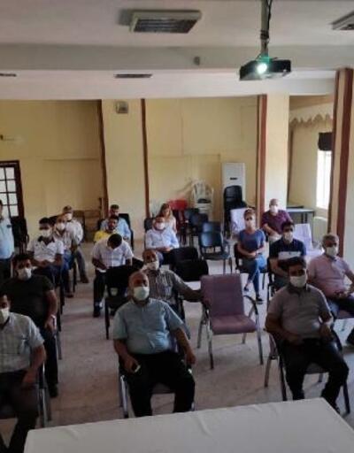 Gölbaşı'nda çiftçilere arıcılık kursu
