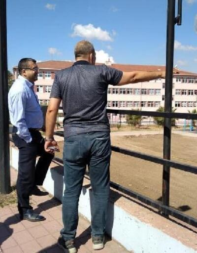 Başkan Öz, Sıtkı Turan Parkı'ndaki yenileme çalışmalarını inceledi
