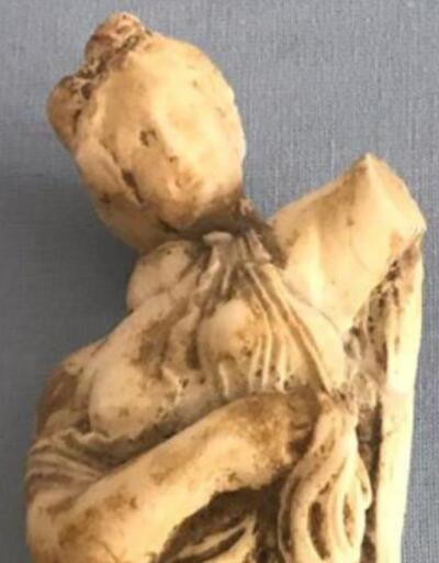 Son dakika... Artvin'de Roma dönemine ait kadın heykeli ele geçirildi