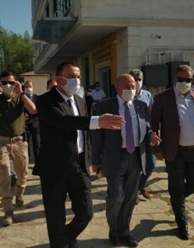 TFF Başkanı Özdemir, Siirt'te spor tesislerini inceledi
