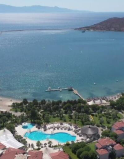 İngiliz turistler Türkiye'de tatili tercih etti | Video