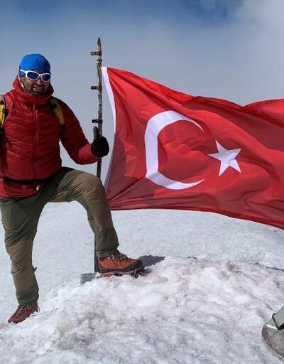 Ağrı Dağı'na 155 kez zirve tırmanışı yaptı