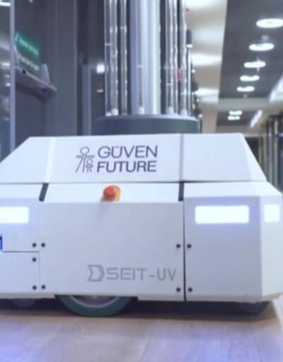 %85 yerli dezenfekte robotu geliştirildi | Video