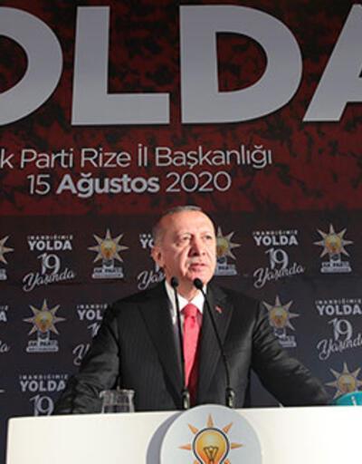 Son dakika haberi... Cumhurbaşkanı Erdoğan'dan Yunanistan'a Doğu Akdeniz mesajı: Bu yaklaşım sürerse gereğini yaparız | Video