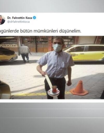 Bakan paylaştı, çaycı meşhur oldu | Video
