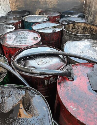 Son dakika.. Çanakkale'de 2 bin 520 litre atık yağ ele geçirildi