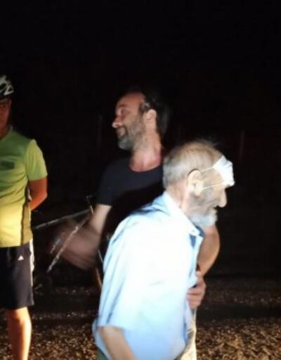Son dakika.. Kaybolan yaşlı adamı bisikletçiler buldu