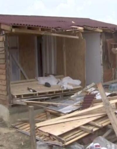 Son Dakika: Şile'de imara aykırı yapılar yıkıldı   Video