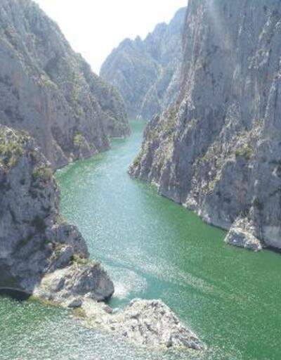 Şahinkaya Kanyonu'na yoğun ilgi