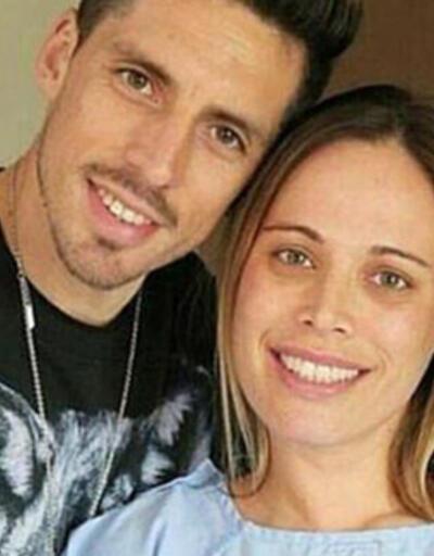 Jose Sosa'nın eşi Carolina Alurralde, koronavirüs olduğunu açıkladı