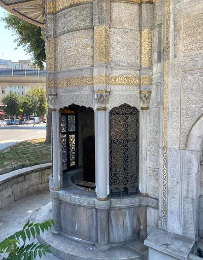 Son dakika... Saliha Sultan Çeşmesi yine tahrip edildi