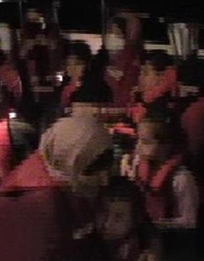 Türk karasularına itilen 22 kaçak göçmen kurtarıldı