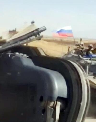 Son dakika: Rus araçları kasti olarak ABD'nin aracına çarptı | Video