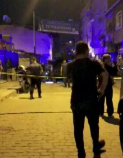Parktaki gruba silahlı saldırı: 1'i çocuk 4 kişi yaralandı | Video