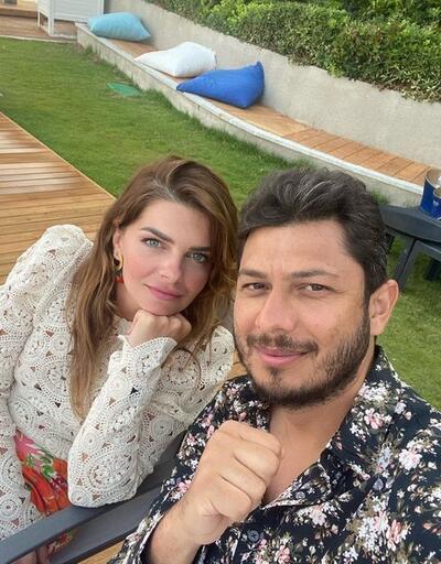 Pelin Karahan'dan eşi Bedri Güntay'a romantik kutlama