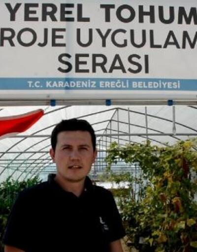 Karadeniz Ereğli Belediyesi ata tohumlarını depoluyor