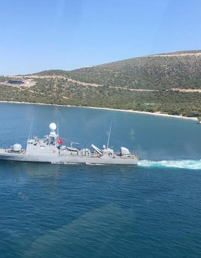 MSB bu fotoğraflarla duyurdu: Ege ve Akdeniz'de icra edildi