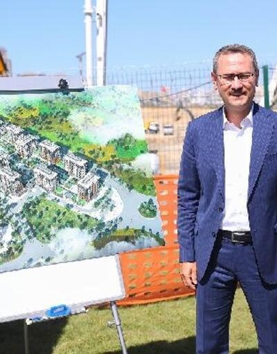 Türkiye'nin ilk deprem izolatörlü konutlarının temeli atıldı