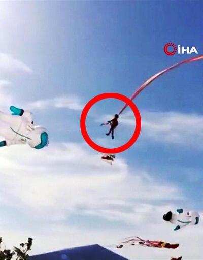 Son Dakika! 3 yaşındaki çocuğun boynuna uçurtma ipi dolandı | Video