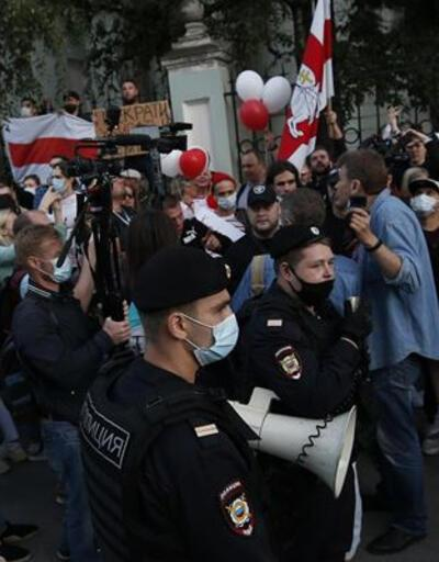Belarus'taki gösterilerde 173 kişi gözaltına alındı
