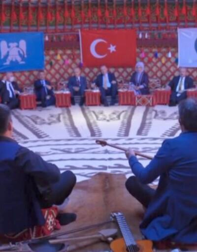 Erdoğan'a anlamlı hediye | Video