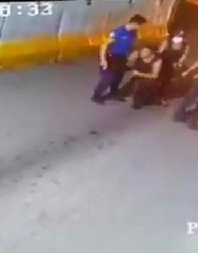 Son dakika... Kavga eden polis ve bekçi görevlerinden uzaklaştırıldı   Video