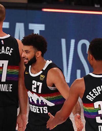 NBA'de Denver Nuggets yarı finale çıktı