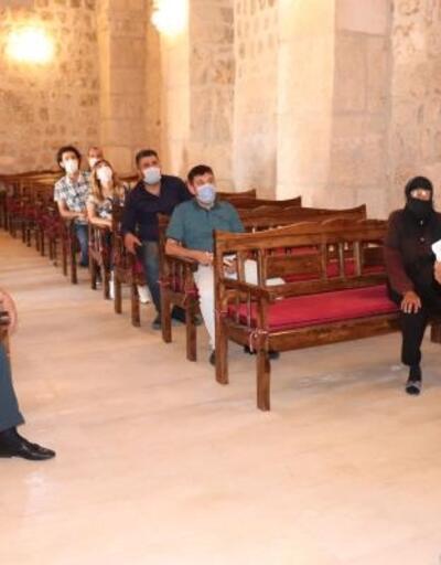 Şahin'den, Mor Dimet Kilisesi'ne ziyaret