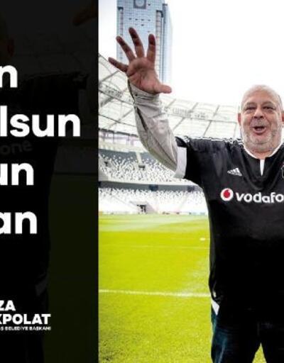 Beşiktaş'ta Haldun Boysan unutulmadı